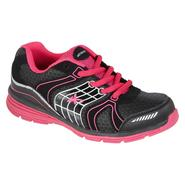 Athletech Girl's LuLu Athletic Shoe - Black/Pink - Every Day Great Price at Kmart.com