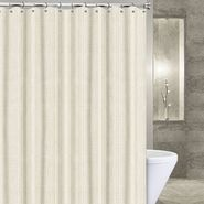 "Popular Bath Products Waffle Stripe 72"" x 84"" Shower Curtain - Black, ivory, mocha & white at Sears.com"