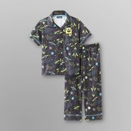 Joe Boxer Infant & Toddler Boy's Fleece Pajamas - Space Explorer at Kmart.com