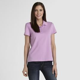 Basic Editions Women's Polo Shirt at Kmart.com