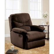 Arcadia Glider Recliner Chair, Chocolate Microfiber at Kmart.com
