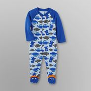 Little Wonders Infant Boy's Footed Pajamas at Sears.com