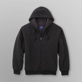 Basic Editions Men's Fleece Hoodie Jacket - Clearance at Kmart.com