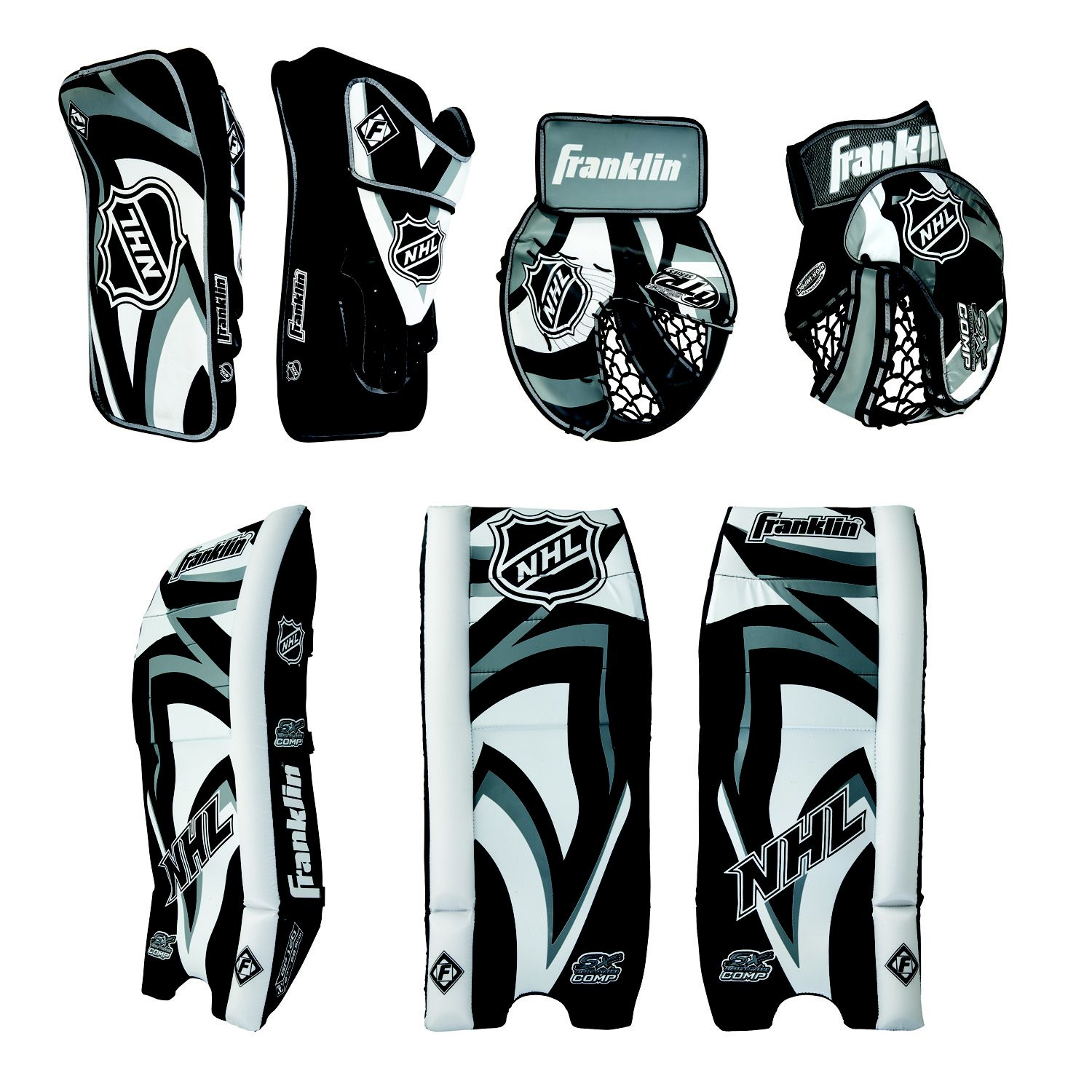 NHL SX Competition 100 Goalie Set Jr.