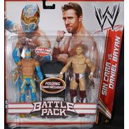 WWE Sin Cara & Daniel Bryan - WWE Battle Packs 15 Toy Wrestling Action Figures at Sears.com