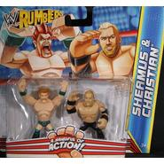 WWE Christian & Sheamus - WWE Rumblers Toy Wrestling Action Figures at Sears.com