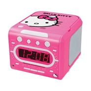 Hello Kitty AM/FM Stereo Alarm Clock Radio with Top Loading CD Player at Kmart.com