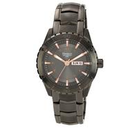 Armitron Men's Dark Gray with Rose Gold Accents Watch at Kmart.com