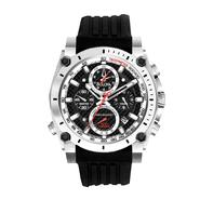 Bulova Precisionist Champlain Collection With Black Band Black Dial at Sears.com