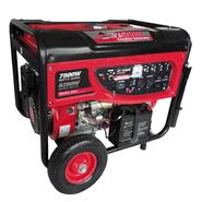 Smarter Tools 7500 Watt Portable Gas Generator with Electric Start, Battery and No Flat Wheels - EPA and CARB Approved. at Sears.com
