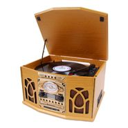Studebaker SB6065 Nostalgic Wooden Turntable, CD with Recording, Cassette Player, AM/FM Stereo Radio at Kmart.com