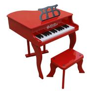 Schoenhut Red 30 Key Fancy Baby Grand Piano w/ Bench at Sears.com