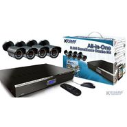 KGUARD Security KGUARD 4CH Surveillance DVR + 4 CMOS Security Cameras with 500GB HDD - BR401-4CW154M-500G at Kmart.com