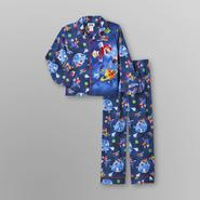 Nintendo Super Mario Boy's Flannel Pajamas