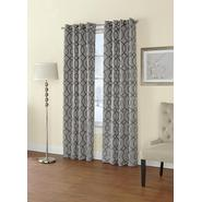 Regal Home Jacquard Grommet-Top Single Curtain Panel at Sears.com