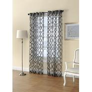 Regal Home Sheer Grommet-Top Single Curtain Panel at Sears.com