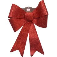 Trim A Home® Large Red Plastic Glitter Bow Christmas Decoration at Kmart.com