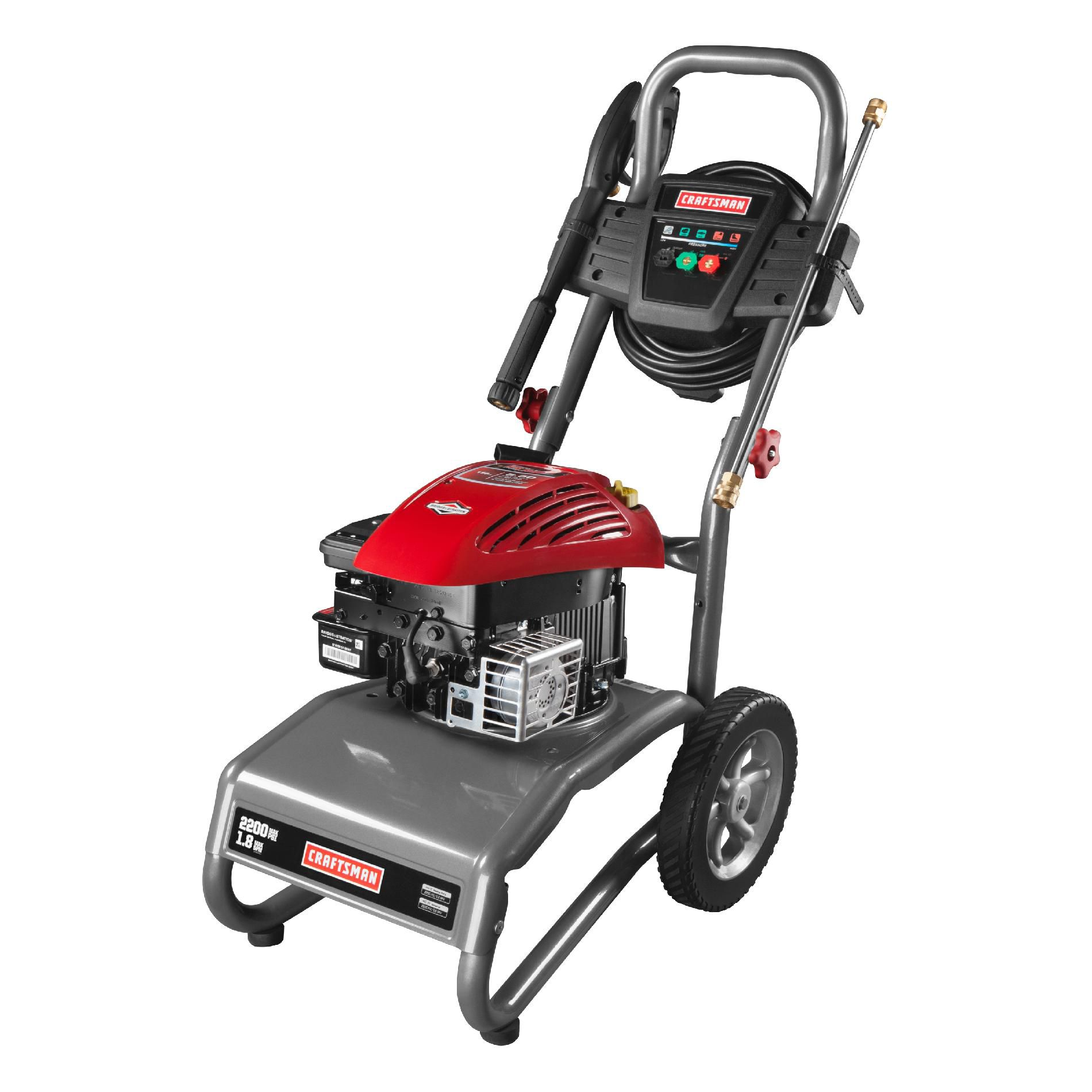 2,200 PSI Gas-Powered Pressure Washer-1.8 GPM