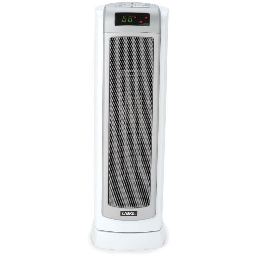 23 In. Ceramic Tower Heater with Remote