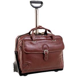 Siamod CARUGETTO 45294 Cognac Leather Detachable-Wheeled Laptop Case at Kmart.com