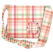 MME Messenger Bag Kit-Pink Plaid at Kmart.com