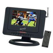 "Supersonic SC-491 7"" Portable TV With DVD Player, ATSC Tuner,  USB, SD Card Reader & Rechargeable Battery at Sears.com"