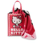 Licensed Hello Kitty Micro Raschel Throw with Gift Tote at Kmart.com