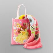 Disney Princess Micro Raschel Throw with Gift Tote at Kmart.com