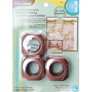"Curtain Grommets 1"" Inner Diameter Plastic 8/PkgCopper at Kmart.com"