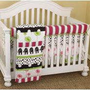 Cotton Tale Hottsie Dottsie Front Crib Rail Cover Up Set at Kmart.com