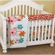 Cotton Tale Lizzie Front Crib Rail Cover Up Set at Kmart.com