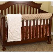 Cotton Tale Raspberry Front Crib Rail Cover Up Set at Kmart.com
