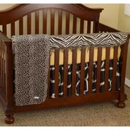 Cotton Tale Zumba Front Crib Rail Cover Up Set at Kmart.com
