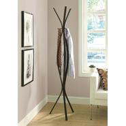 "Monarch Specialties Cappuccino Metal Contemporary 72""H Coat Rack at Kmart.com"