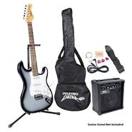 Pyle Beginner Electric Guitar Package- Grey Silver at Sears.com