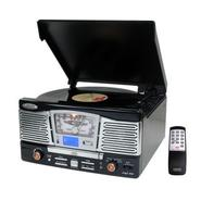 Pyle Retro Style Turntable With CD/Radio/USB/SD/MP3/WMA and Vinyl-to-MP3 Encoding at Kmart.com