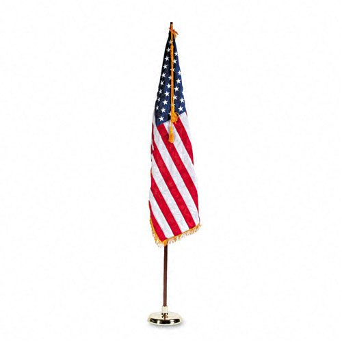 Advantus  Indoor U.S. Flag and Staff Set