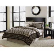 Jaclyn Smith Chocolate Chain Links Bedding Collection at Kmart.com