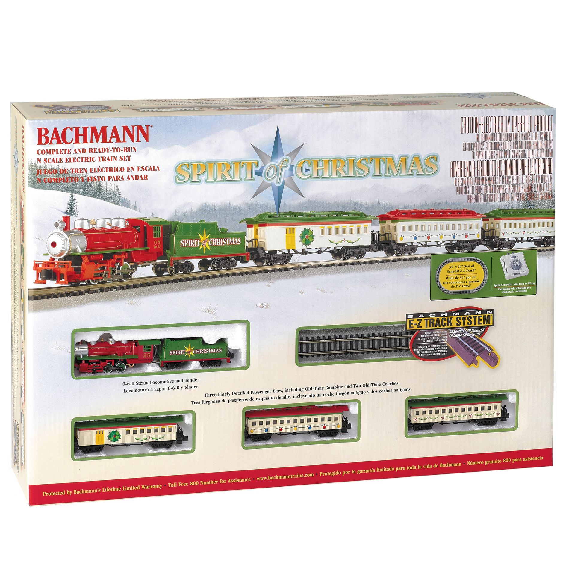 Bachmann Trains Spirit Of Christmas 'N' Scale