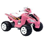 Happy Rider 6 Volt Battery Operated Hot ATV Ride On-Pink at Sears.com