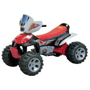 Happy Rider 12 Volt Battery Operated Trail Master ATV -Red at Sears.com