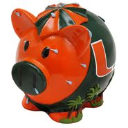 Forever Collectibles NCAA Large Piggy Bank - University of Miami Hurricanes at Kmart.com