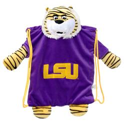 Forever Collectibles LSU Tigers NCAA Plush Mascot Backpack Pal