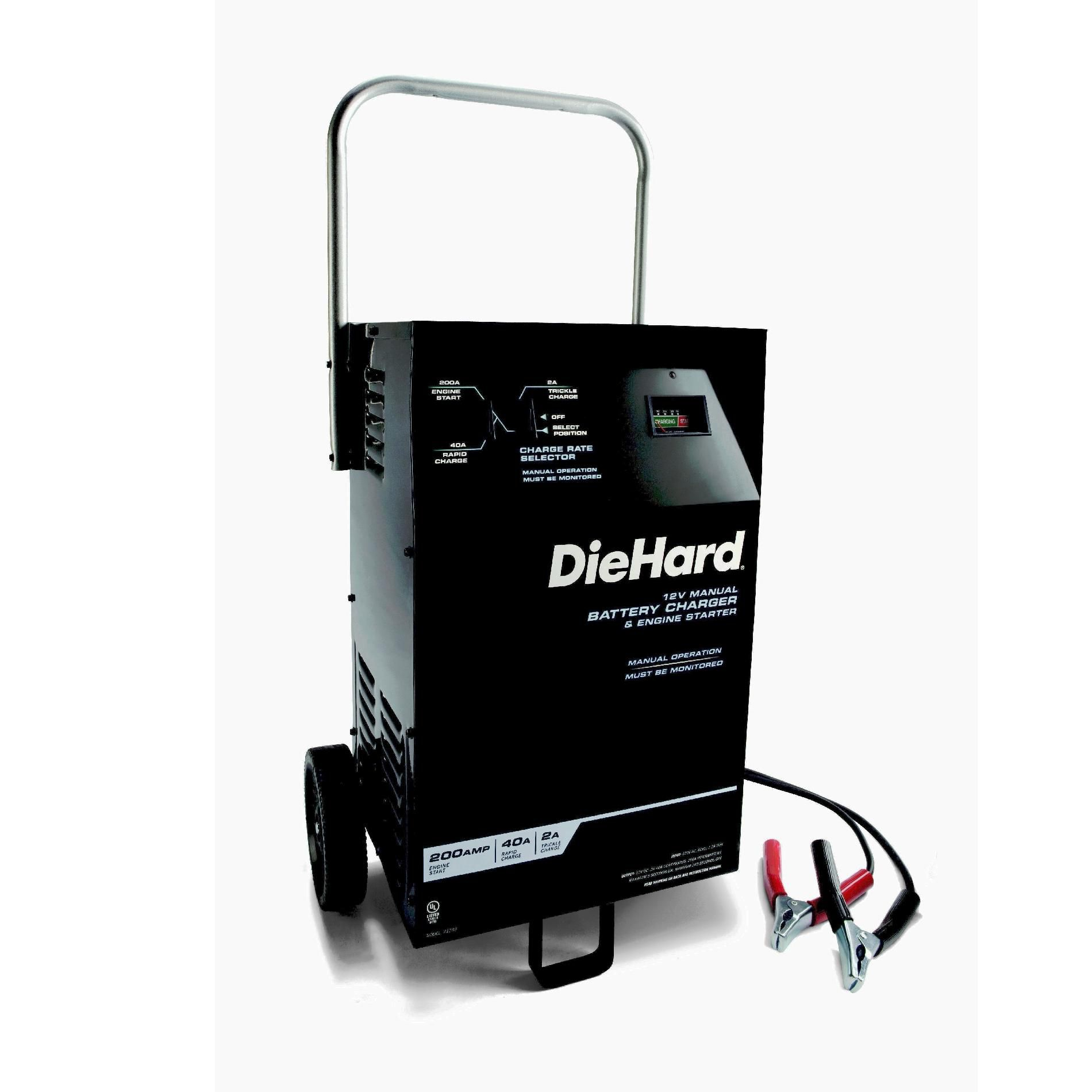 DieHard  Manual Wheeled Charger/Starter