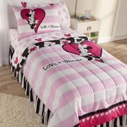 Disney Minnie Mouse Reversible Comforter Set at Kmart.com