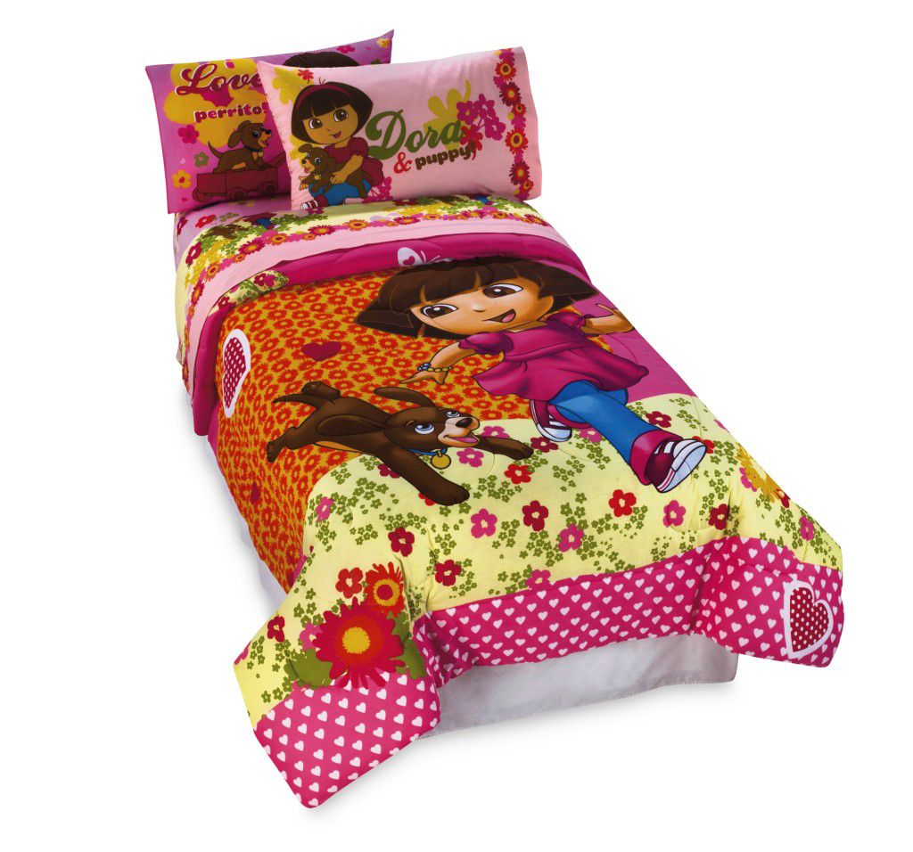 Dora And Puppy Bedding Collection