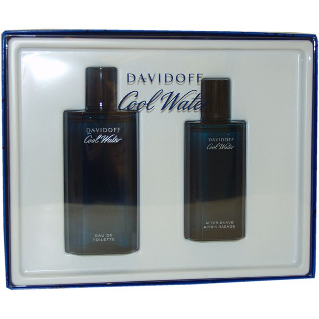 Cool Water by Zino Davidoff for Men - 2 Pc