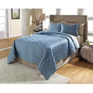 Ty Pennington 3 Piece Coverlet Set - Leanne Blue Smoke at Sears.com