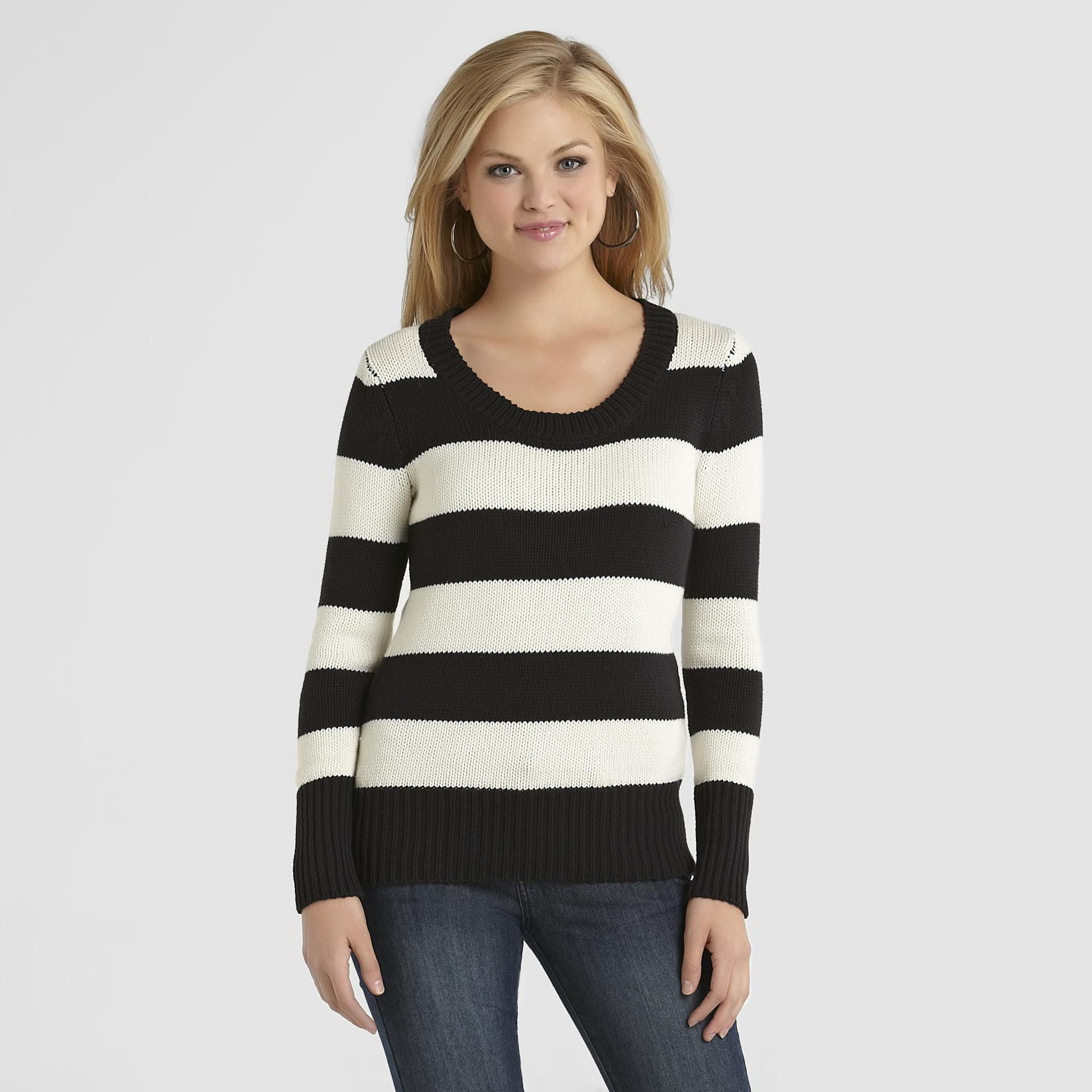 Route 66 Women's Striped Sweater at Kmart.com