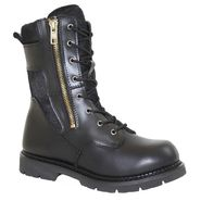 "AdTec Men's 10"" SWAT Boot With Zipper, Black at Sears.com"